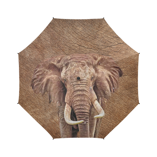 TD 30 Elephant Fur Texture Umbrella