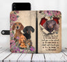 TH 2 Dachshund Will Be There Wallet Case