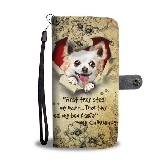 Nh 2 Chihuahua Torn Wallet Case