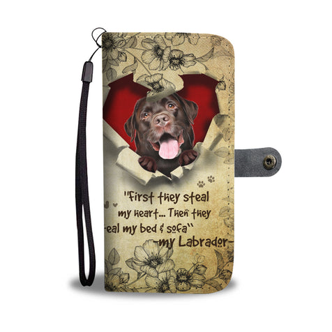 Nh 2 Labrador Torn Wallet Case