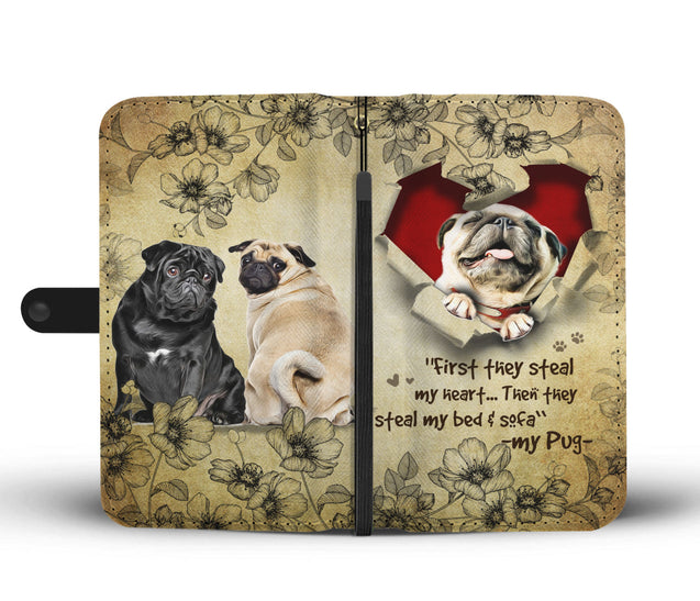 Nh 2 Pug Torn Wallet Case