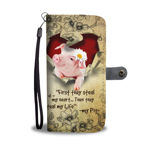 Nh 2 Pig Torn Wallet Case