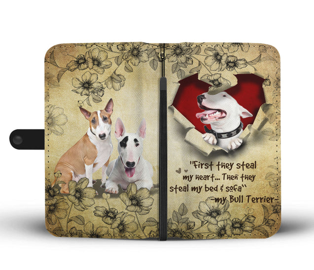 Nh 2 Bull Terrier Torn Wallet Case