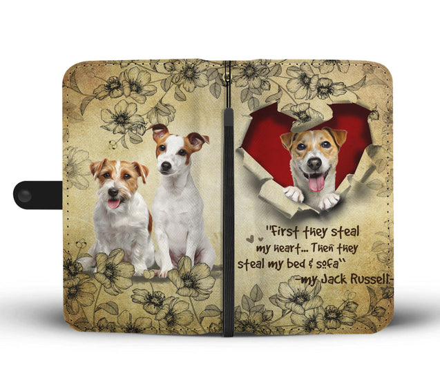 Nh 2 Jack Russell Torn Wallet Case