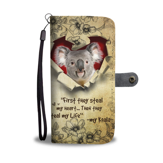 Nh 2 Koala Torn Wallet Case