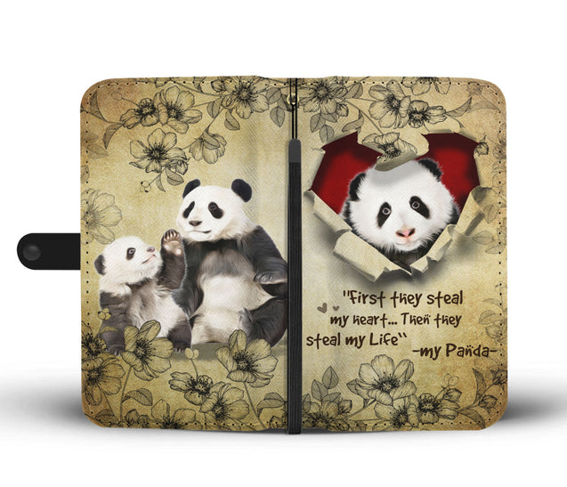 Nh 2 Panda Torn Wallet Case