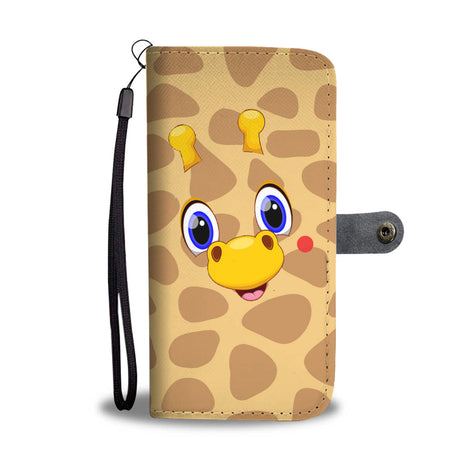 Nh 6 Giraffe Cute Wallet Case