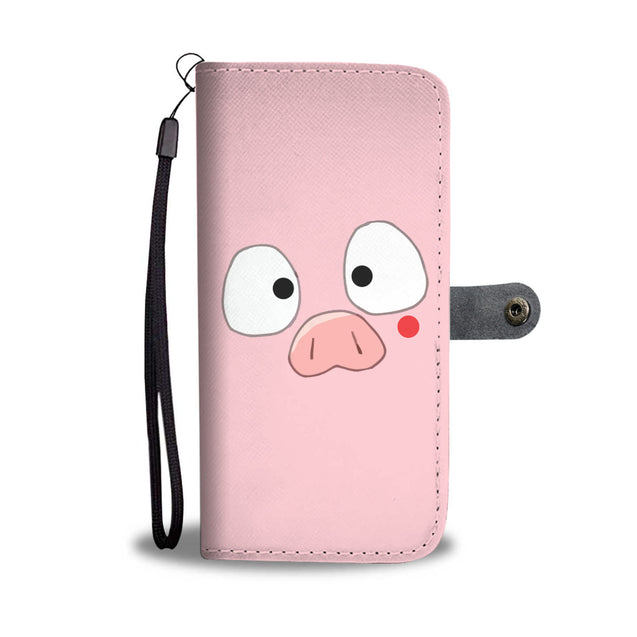 Nh 6 Pig Cute Wallet Case