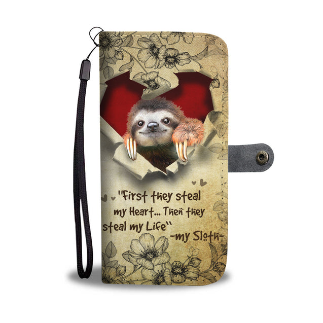 Nh 2 Sloth Torn Wallet Case