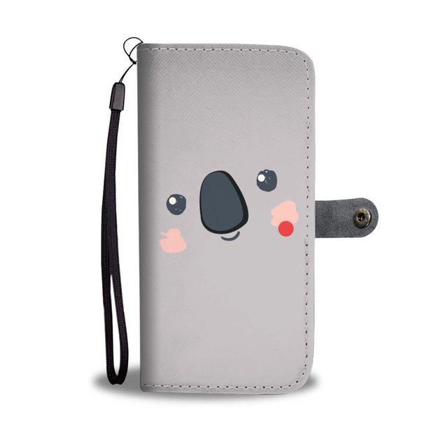 Nh 6 koala cute wallet case