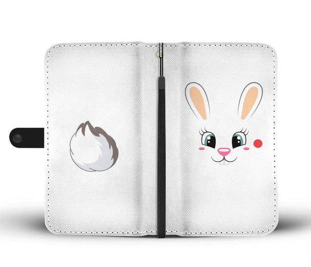 Nh 6 rabbit cute wallet case