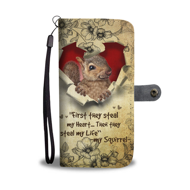 Nh 2 Squirrel Torn Wallet Case