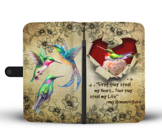 Nh 2 Hummingbird Torn Wallet Case