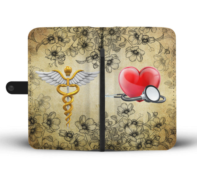 Nh 2 Nurse Torn Wallet Case