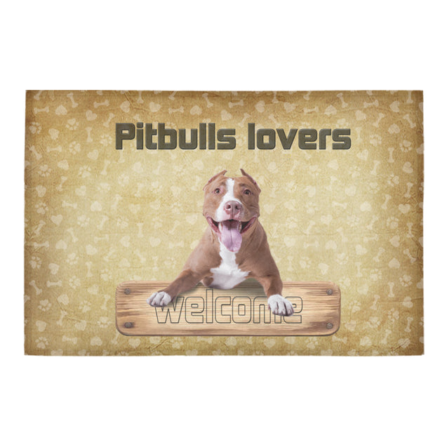 "vt pitbull Doormat 23.6"" x 15.7"" (New)"