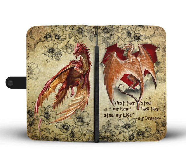 Nh 2 Dragon Torn Wallet Case