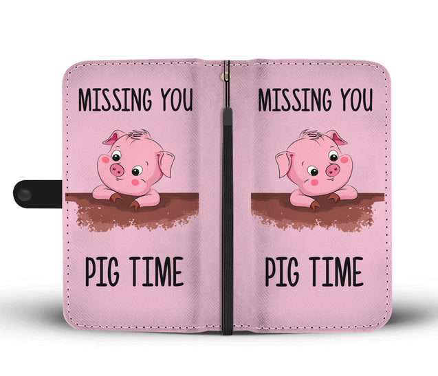 ln pig time wallet case