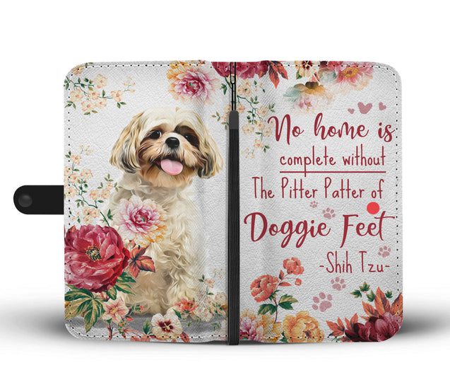 TD Shih Tzu Pitter Patter Wallet Case