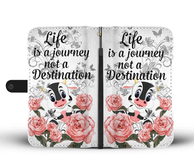 ln cow a journey wallet case