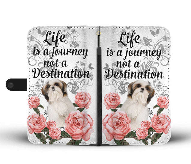ln shih tzu a journey wallet case