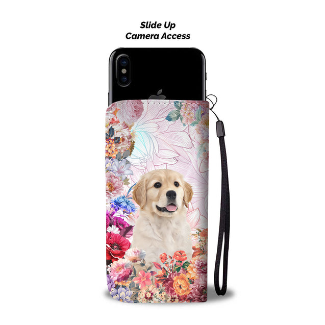 nh 6 golden retriever remembered wallet case
