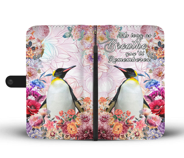 nh 6 penguin remembered wallet case