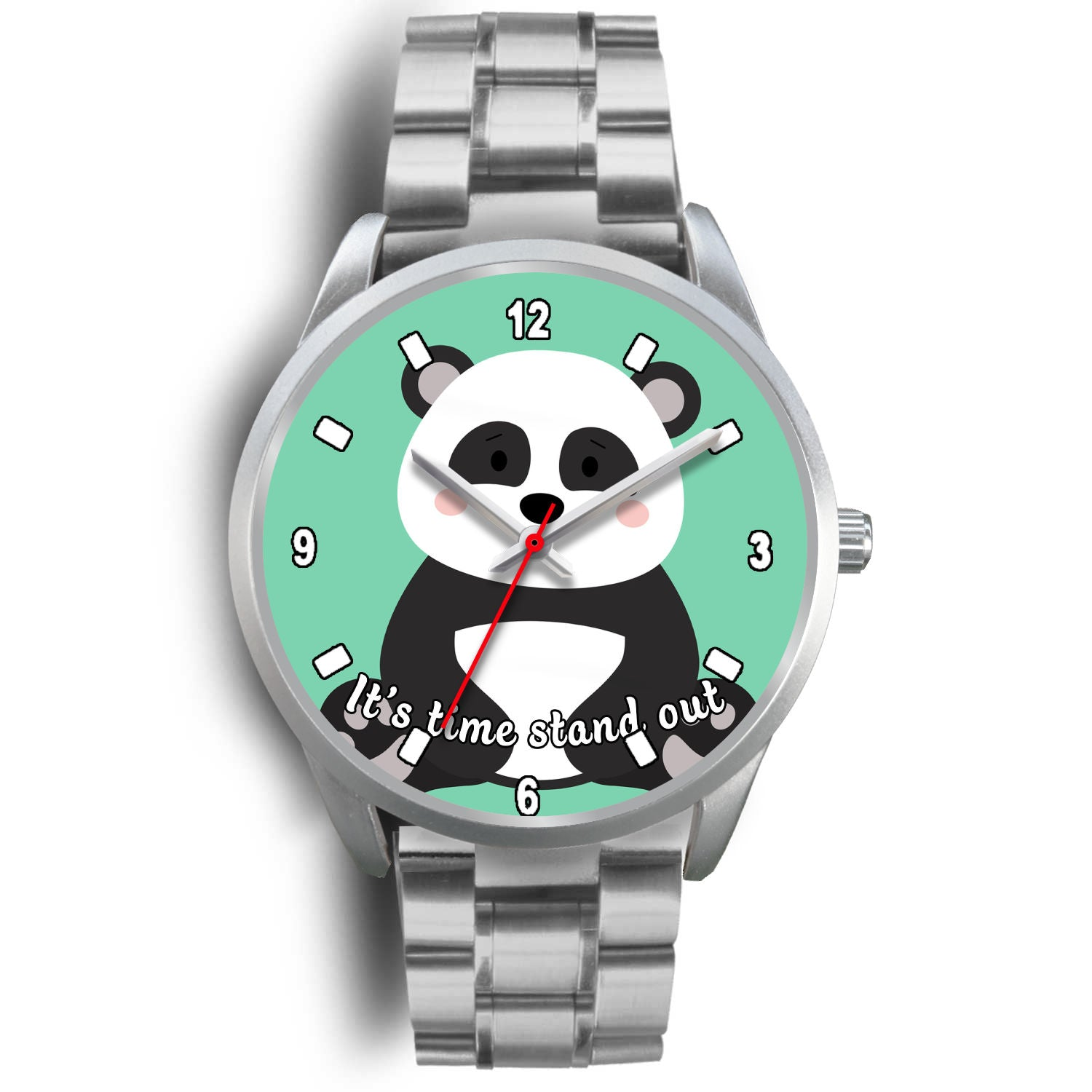 Nh 6 Panda Cute Watch