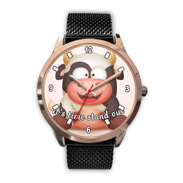 Nh 6 Cow Cute Watch