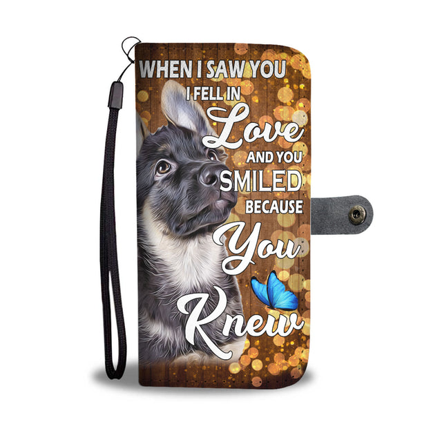 nh 6 german shepherd love wallet case