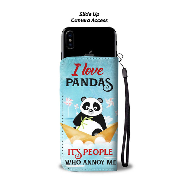ln 1 panda people annoy me wallet case