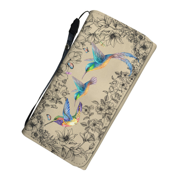 Nh 6 Hummingbird Womens Wallet