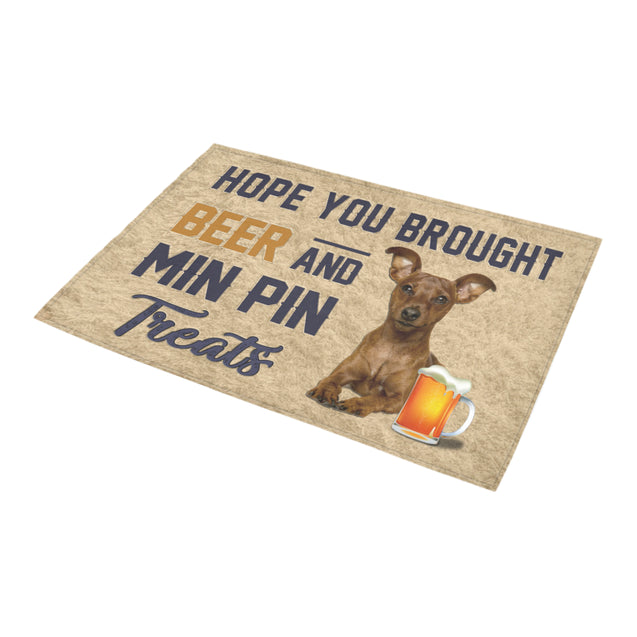 Nh 1 Min Pin beer doormat