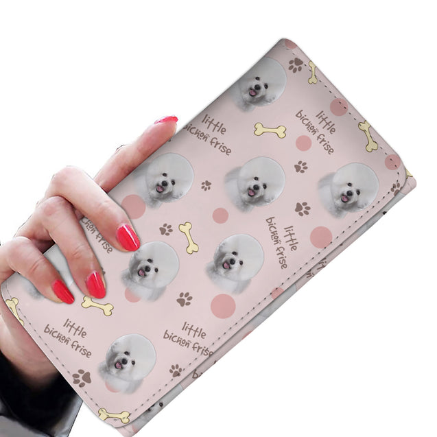 ln 1 bichon frise little women's wallet