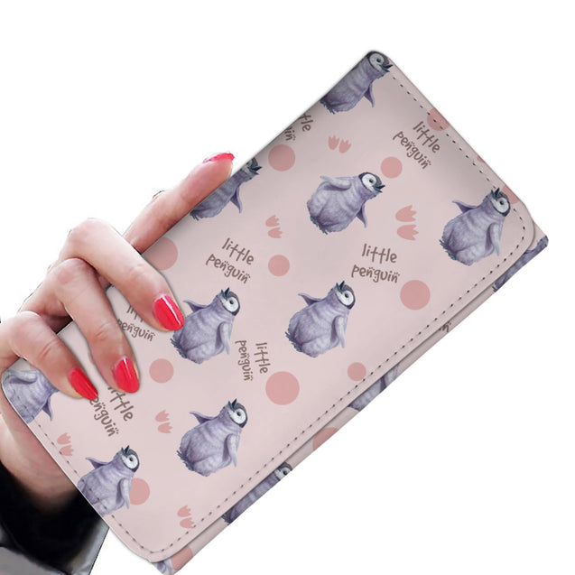 ln 1 penguin little women's wallet