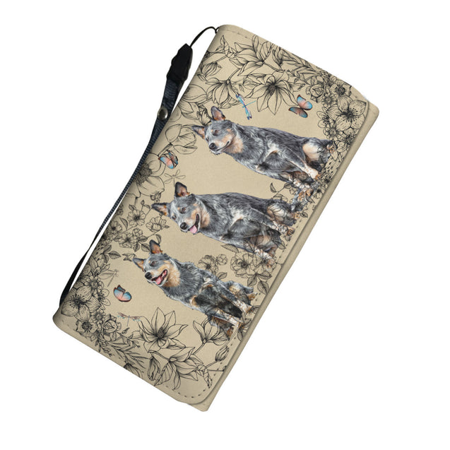 nh 6 heeler flower womens wallet