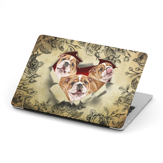 TR Bull Dog Hard Shell Macbooks Case