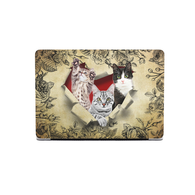 TR Cat Hard Shell Macbooks Case