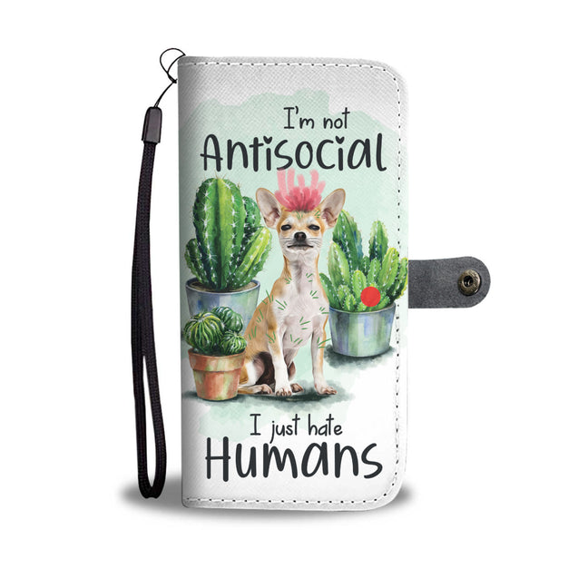 nh 2 chihuahua antisocial wallet case