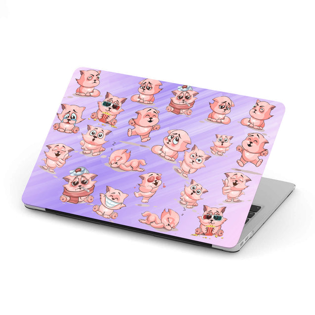 Nh 6 Cat Pattern Cute Macbook Case