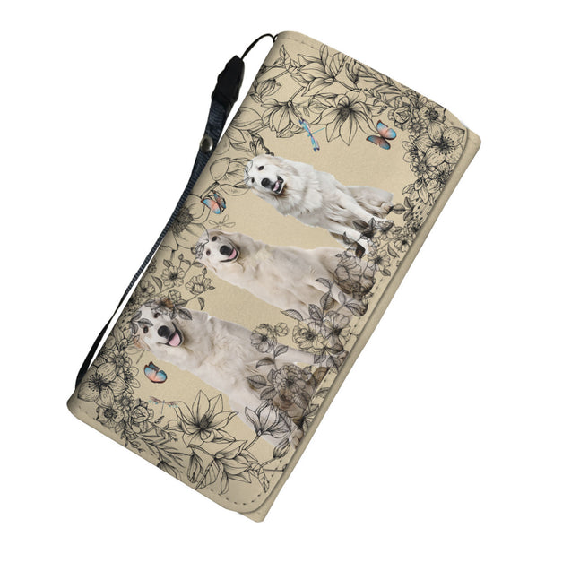 Nh 6 Great Pyrenees Womens Wallet