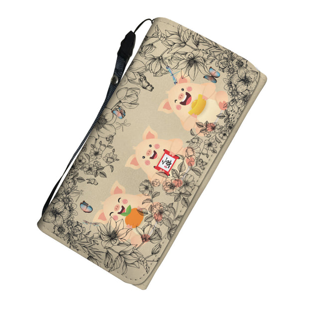 Nh 6 Pig Womens Wallet