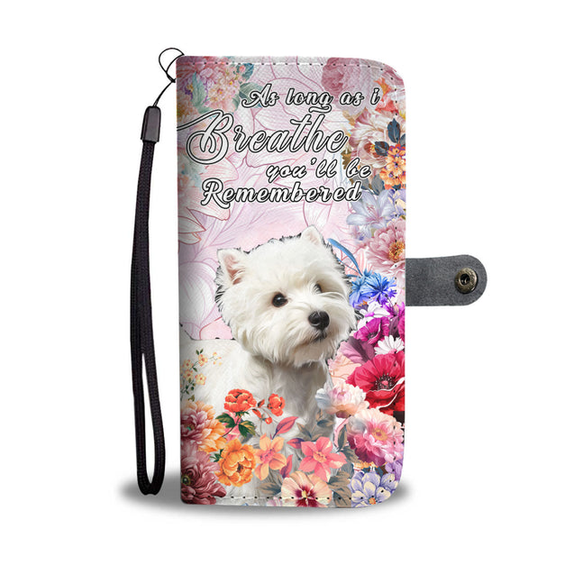 nh 6 westie remembered wallet case