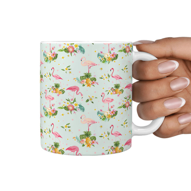 nh 6 flamingo 360 mug