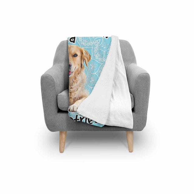 TD Golden Retriever Is My Spirit Animal Blanket