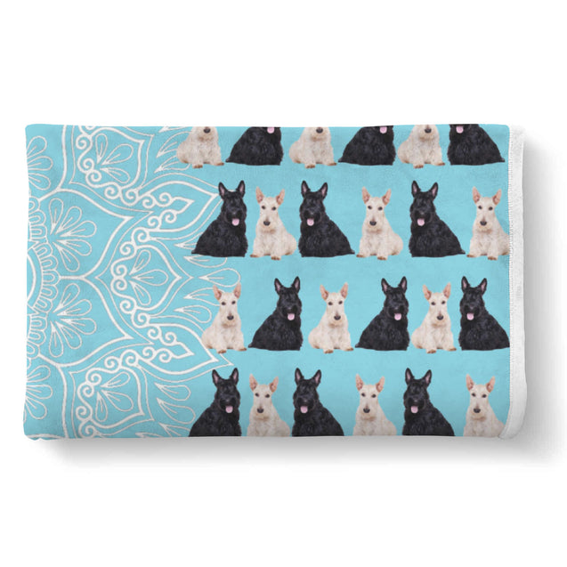 TD Scottish Terrier Is My Spirit Animal Blanket