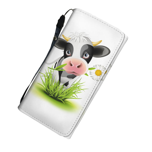 nh cow heart womens wallet