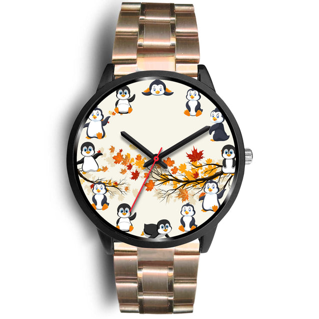 nh penguin  maple leaves watch