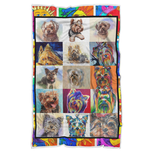 nh 6 yorkshire terrier color blanket