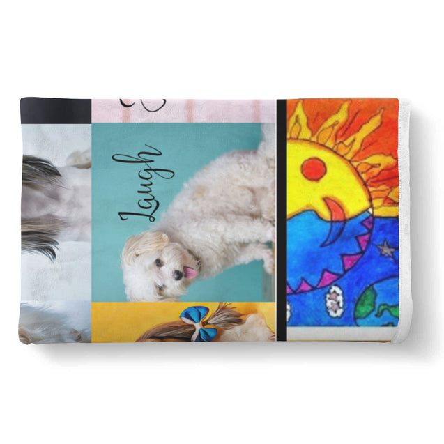 nh 6 shih tzu color blanket