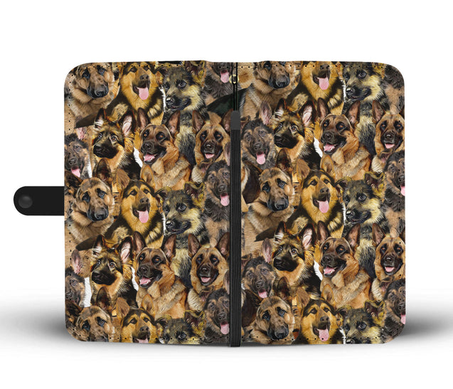 nh german shepherd wallet case